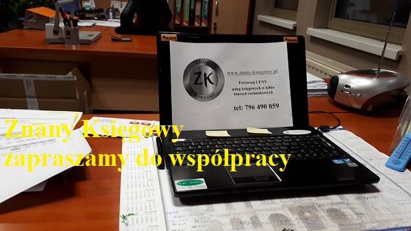 Znany Ksiegowy - biuro rachunkowe dla twojej firmy